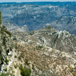 Mountainous landscapes of Copper Canyon, Chihuahua, Mexico