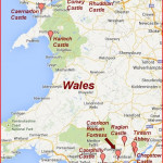 Map of  Wales 2