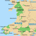 Map of Wales 1