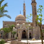 Al Mustafa Mosque in Sharm El Sheikh, Eygpt