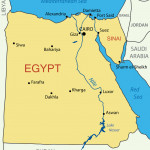 Arab Republic of Egypt - map