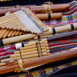 Bamboo musical instruments