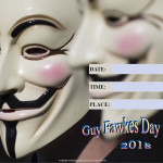 Guy Fawkes Day - 2018 - fillable