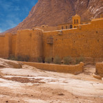 Holly monastery of St. Catherine, mount Moses, Sinai, Egypt