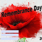 Remembrance Day - 2018 - fillable