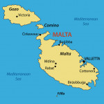 Republic of Malta - map