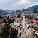 Sarajevo city located in Balkans region. This old part of the city is popular because of ottoman empire and islam in this part of the world