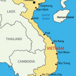 Socialist Republic of Vietnam - map