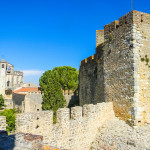 The Convento do Cristo, a great christian monastery and fortress in Tomar, Portugal