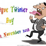 Tongue Twister Day - 2018