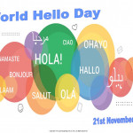 World Hello Day - 2018