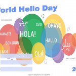 World Hello Day - 2018 - fillable