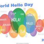 World Hello Day   Event Poster    Without A Date
