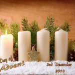 First Day of Advent  December 2