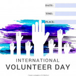 Int Volunteer Day - 2018 - fillable