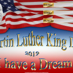 Martin Luther King Day - 2019 - fillable