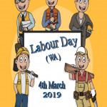 Labour Day (WA)   March 4    Event Poster