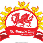 St David's Day   March 1    Event Poster