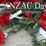 Anzc Day 1    April 25    Event Poster