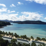 Beautiful view of Hamilton Island in Whitsunday, Queensland, Australia
