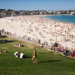 Bondi Beach is one of the most visited beach in Australia due to the length and also clear water.