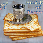 First Day of Passover   April 20   Event Poster