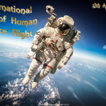 Int. Day of Human Space Flight   April 12    Event Poster