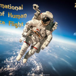 Int. Day of Human Space Flight  Event Poster  Without A Date