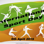 Int. Sport Day   April 6    Event Poster