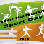 Int. Sport Day   Event Poster    Add Your Own Details