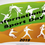 Int. Sport Day  Event Poster  Without A Date