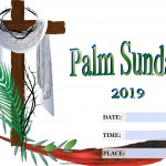 Palm Sunday   Event Poster    Add Your Own Details