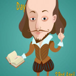 Shakespeare Day   April 23    Event Poster
