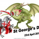 St George's Day (UK)   April 23   Event Poster