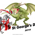 St George's Day (UK)  Event Poster  Without A Date