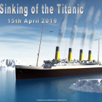 Titanic Remembrance Day   April 15    Event Poster