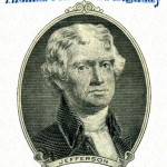 Thomas Jefferson's Birthday  Event Poster  Without A Date