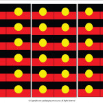 Cocktail Flags - Aboriginal