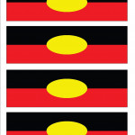 Napkin Ring template - Aboriginal
