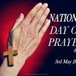 National Day of Prayer  May 3    Event Poster