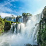 Iguazu falls, 7 wonder of the world in - Argentina