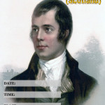 Event Poster - Burns Night (Scotland) - 2020 - fillable
