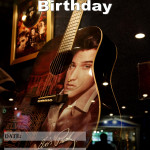 Event Poster - Elvis Presley's Birthday - 2020 - fillable
