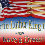Event Poster - Martin Luther King - 2020 - fillable