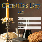 Event Poster - Orthodox Christmas - 2020 - fillable