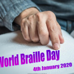 Event Poster - World Braille Day - 2020