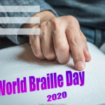 Event Poster - World Braille Day - 2020 - fillable
