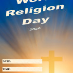 Event Poster - World Religion Day - 2020 - fillable