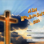 Event Poster - Ash Wednesday - 2020 - fillable