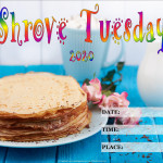 Event Poster - Shrove Tuesday - 2020 - fillable
